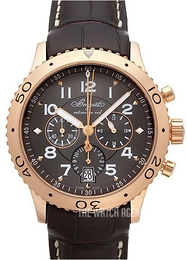 Breguet Type XXI Brown/Leather Ø42 mm 3810BR-92-9ZU