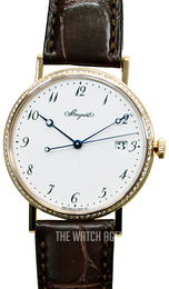 Breguet Classique White/Leather Ø38 mm 5178BR-29-9V6 D000