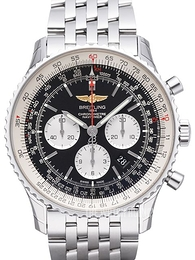 Breitling Navitimer 01 46mm Black/Steel Ø46 mm AB012721-BD09-443A