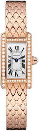 Cartier Tank Americaine Silver colored/18 carat rose gold WB710012