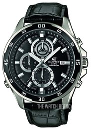 Casio Edifice Black/Leather Ø46 mm EFR-547L-1AVUEF