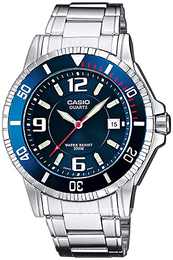 Casio Casio Collection Blue/Steel Ø42.6 mm MTD-1053D-2AVES
