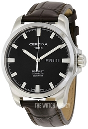 Certina DS First Gent Black/Leather Ø40.3 mm C014.407.16.051.00