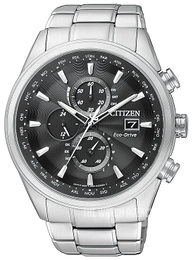 Citizen Radio Controlled Black/Steel Ø43 mm AT8011-55E