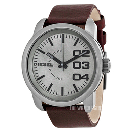 Diesel Franchise Grey/Leather Ø46 mm DZ1467