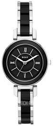 DKNY Dress Black/Steel Ø30 mm NY2590