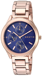 DKNY Chronograph Blue/Rose gold colored steel Ø36 mm NY2661