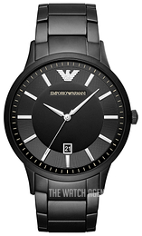 Emporio Armani Black/Steel Ø43 mm AR11079