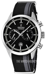 Festina Sport Black/Steel Ø44 mm F16827-3