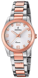 Festina White/Rose gold colored steel Ø31 mm F20209-2