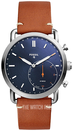 Fossil Blue/Leather Ø42 mm FTW1151