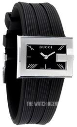 ae48825fc53 Gucci G- Frame Black Rubber YA100504