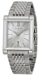 ba24c16be3c Gucci G- Frame Silver colored Steel YA138501