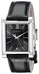 e7b5dc5863d Gucci G- Frame Black Leather YA138503