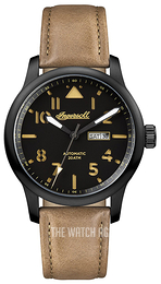 Ingersoll The Hatton Black/Leather Ø46 mm I01302