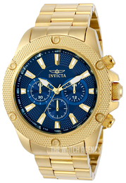 Invicta Pro Diver Blue/Yellow gold toned steel Ø48 mm 22719