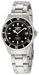 Invicta Pro Diver Black/Steel Ø37.5 mm 8932OB