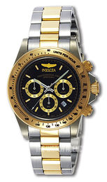 Invicta Speedway Cougar Black/Steel Ø39.5 mm 9224