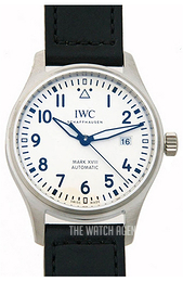 IWC Pilots Classic White/Leather Ø40 mm IW327002