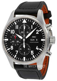 IWC Pilots Classic Black/Leather Ø43 mm IW377709