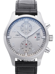 IWC Pilots Spitfire Silver colored/Leather Ø43 mm IW387809