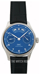 IWC Portuguese Blue/Leather Ø44.2 mm IW503502