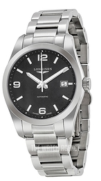 Longines Conquest Black/Steel Ø40 mm L2.785.4.56.6