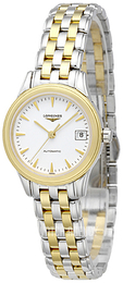 Longines Grande Classique White/Yellow gold toned steel Ø26 mm L4.274.3.22.7