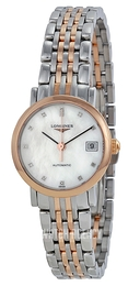 Longines Elegant White/18 carat rose gold Ø25.5 mm L4.309.5.87.7