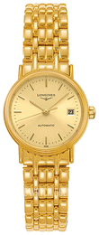 Longines Grande Classique Yellow gold toned/Yellow gold toned steel Ø25.5 mm L4.321.2.32.8