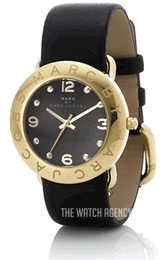 Marc by Marc Jacobs Amy Black/Leather Ø36 mm MBM1154