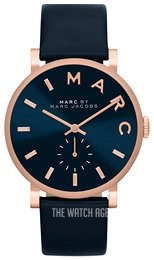 Marc by Marc Jacobs Blue/Leather Ø36 mm MBM1329