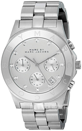 Marc by Marc Jacobs Blade Silver colored/Steel Ø40 mm MBM3100