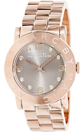 Marc by Marc Jacobs Amy Brown/Rose gold colored steel Ø36.5 mm MBM3221