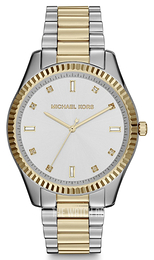 Michael Kors Blake Silver colored/Yellow gold toned steel Ø41 mm MK3241