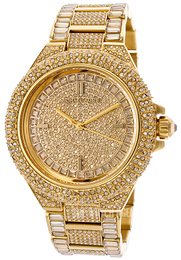 Michael Kors Camille Yellow gold toned/Steel Ø43 mm MK5720