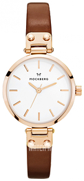 Mockberg Petite White/Leather Ø28 mm MO209