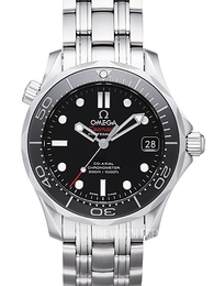 Omega Seamaster Diver 300m Co-Axial 36.25mm Black/Steel Ø36.25 mm 212.30.36.20.01.002