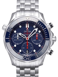Omega Seamaster Diver 300m Co-Axial Chronograph 41.5mm Blue/Steel Ø41.5 mm 212.30.42.50.03.001