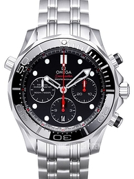 Omega Seamaster Diver 300m Co-Axial Chronograph 44mm Black/Steel Ø44 mm 212.30.44.50.01.001