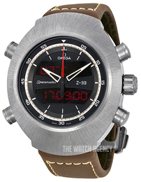 Omega Speedmaster Spacemaster Z 33 Chronograph 43x53mm Black/Leather 325.92.43.79.01.002