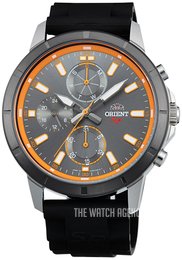 Orient Sporty Grey/Rubber Ø43 mm FUY03005A0