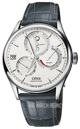 Oris Culture Antique white/Leather Ø43 mm 01 112 7726 4051-Set 1 23 71FC
