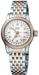 Oris Aviation Silver colored/Rose gold colored steel Ø29 mm 01 594 7695 4361-07 8 14 32