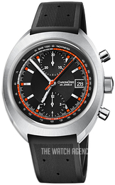 Oris Motor Sport Black/Rubber Ø40 mm 01 673 7739 4034-Set RS