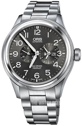 Oris Aviation Grey/Steel Ø44.7 mm 01 690 7735 4063-07 8 22 19-1