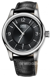 Oris Culture Black/Leather Ø42 mm 01 733 7594 4034-07 5 20 11