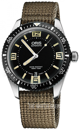 Oris Diving Black/Textile Ø40 mm 01 733 7707 4064-07 5 20 22