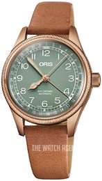 Oris Aviation Green/Leather Ø36 mm 01 754 7749 3167-07 5 17 66BR