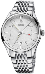 Oris Culture Silver colored/Steel Ø40 mm 01 755 7742 4051-07 8 21 79
